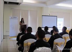 Presentación en Tegucigalpa, Honduras.
